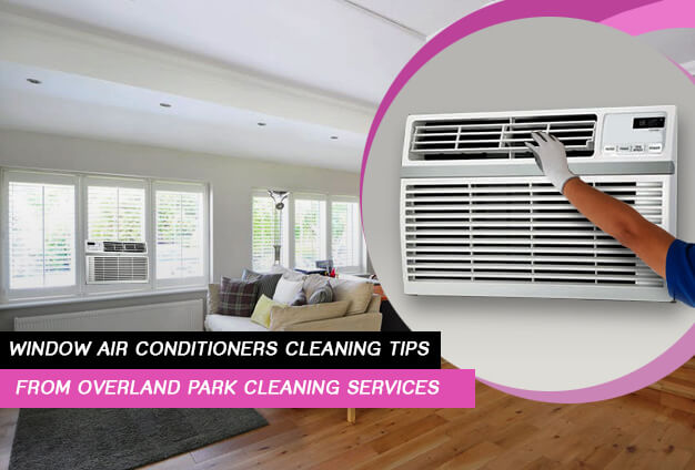 Window Air Conditioners Cleaning Tips from Overland Park Cleaning Services
