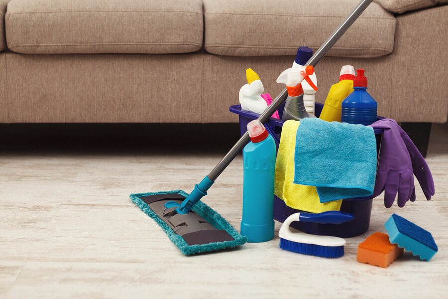 Cleaning your home to keep your home virus free